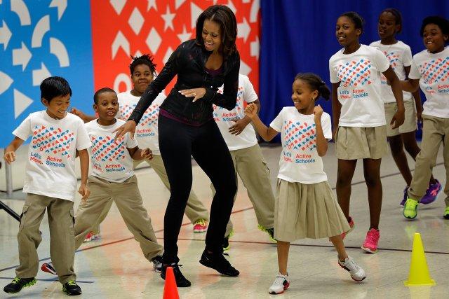 Svitnaðu við sömu lög og Michelle Obama.