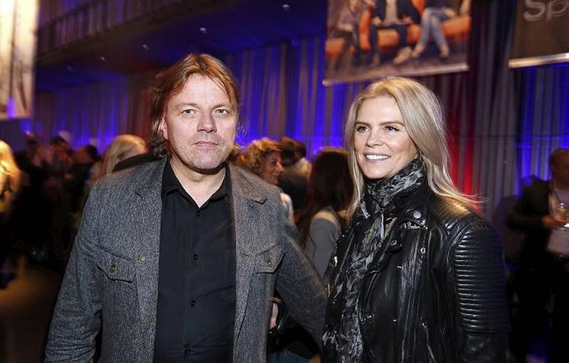 Jón Ásgeir Jóhannesson og Ingibjörg Pálmadóttir.