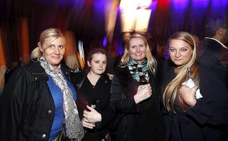 Fjóla Úlfarsdóttir, Sigríður Rún Kristinnsdóttir, Elsa Nílsen og Diljá Ámundadóttir.