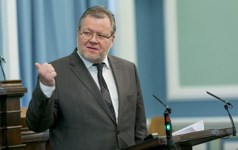 Össur Skarphéðinsson, þingmaður Samfylkingarinnar.