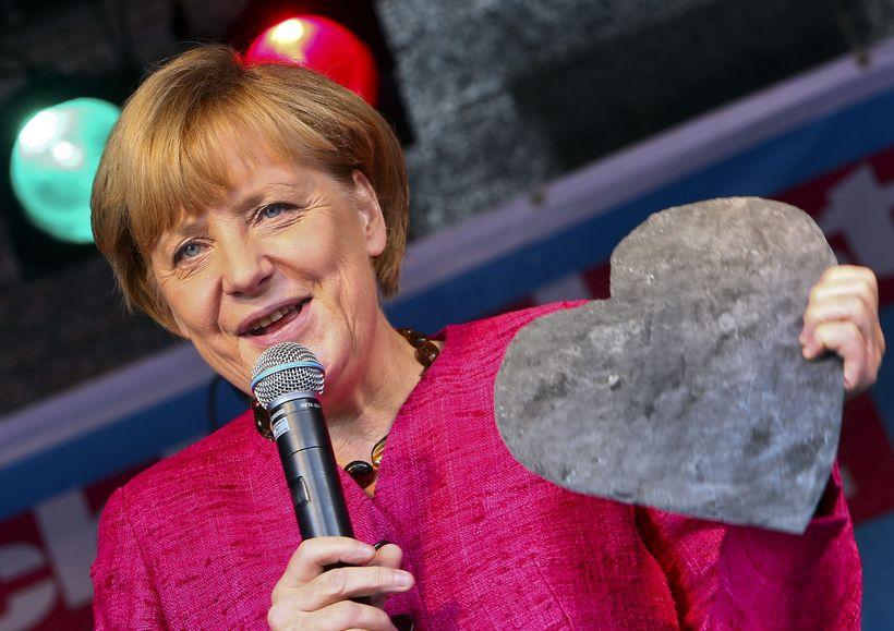 Angela Merkel kanslari Þýskalands sagði við flokksstjórn CDU fyrir helgi …