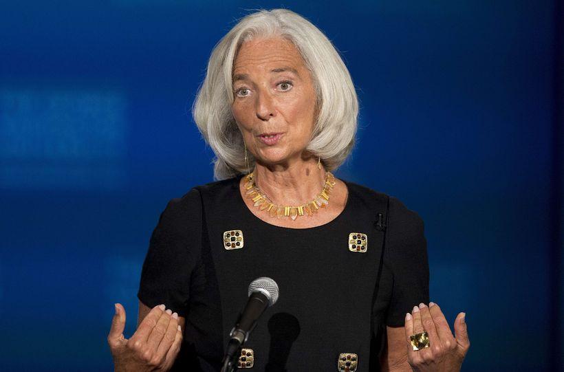 Christine Lagarde framkvæmdastjóri AGS varar við því að greiðslufall Bandaríkjanna …