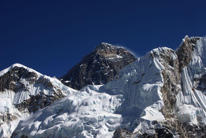 Tindur Everest fjalls.