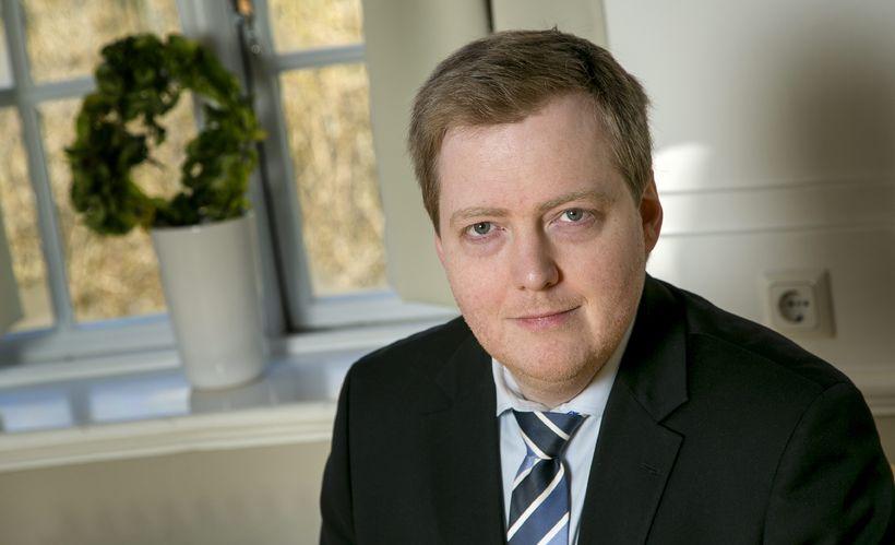 Sigmundur Davíð Gunnlaugsson, forsætisráðherra.