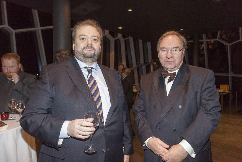Haraldur Johannessen og Kjartan Gunnarsson.