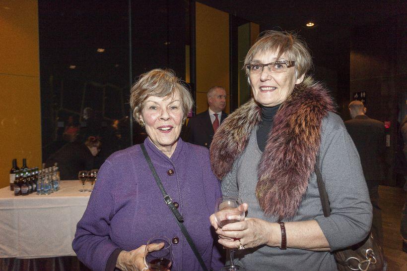 Kristrún Eymundsdóttir og Ragnhildur Kolka.