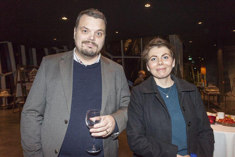 Björn Ingi Hrafnsson og Þórlaug Ágústsdóttir.