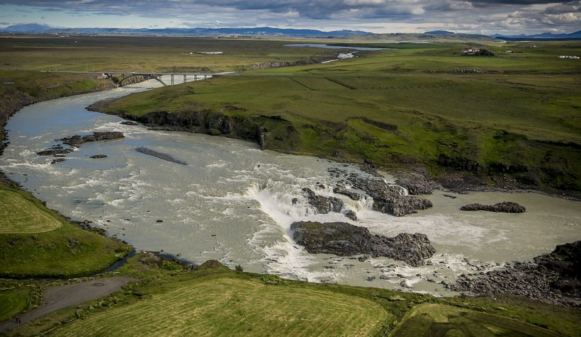 Urriðafoss Waterfall might not exist for many years to come.