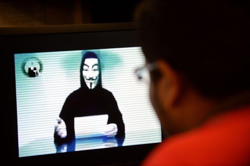 Anonymous-samtökin hafa áður ráðist á vefi stofnana á Íslandi.