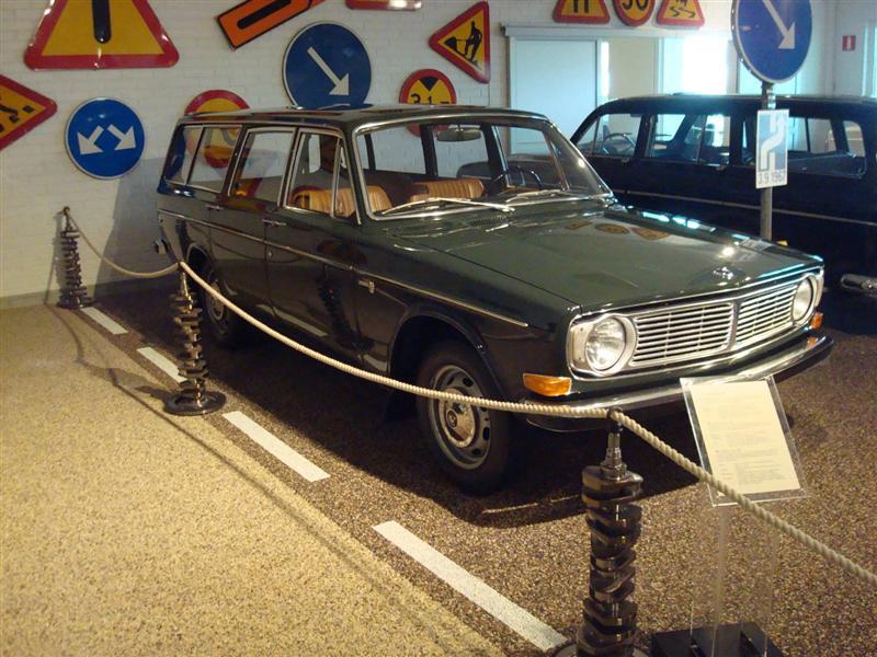Á Volvosafninu í Svíþjóð.