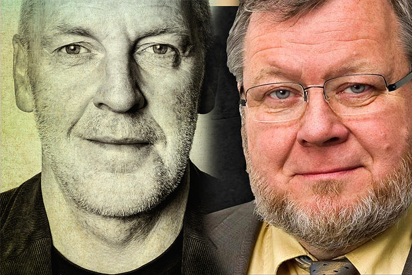 Steingrímur J. Sigfússon og Össur Skarphéðinsson.