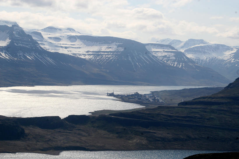 Frá Reyðarfirði.