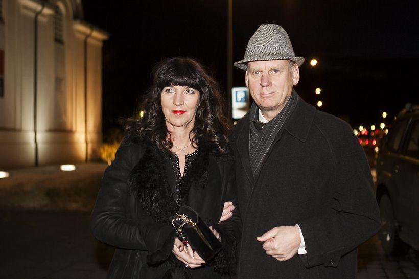 Elín Sveinsdóttir og Sigmundur Ernir Rúnarsson.