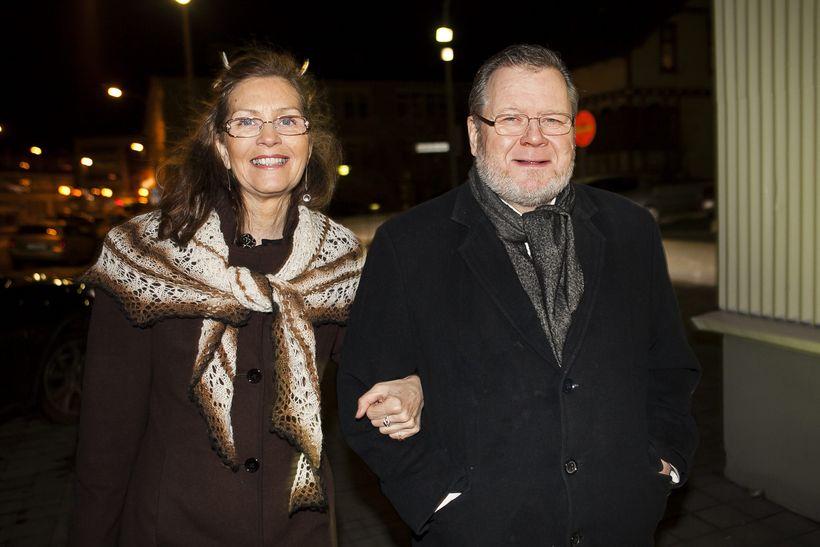Össur Skarphéðinsson og Árný Erla Sveinbjörnsdóttir.