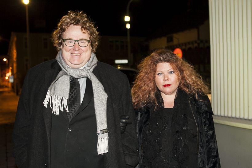 Egill Helgason og Sigurveig Káradóttir.