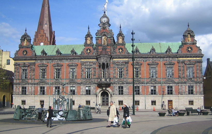 Ráðhúsið í Malmö í Svíþjóð.