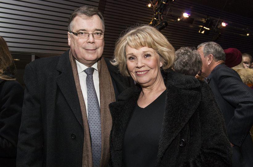 Geir H. Haarde og Inga Jóna Þórðardóttir.
