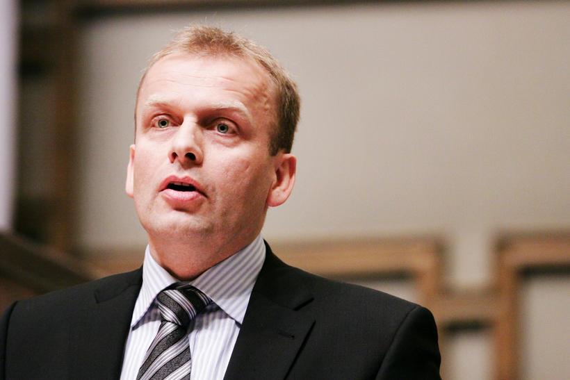 Kaj Leo Holm Johannesen, lögmaður Færeyja.