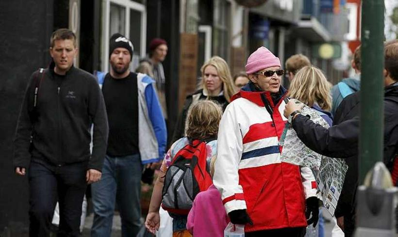 Almost 40,000 people now living in Iceland were born abroad.