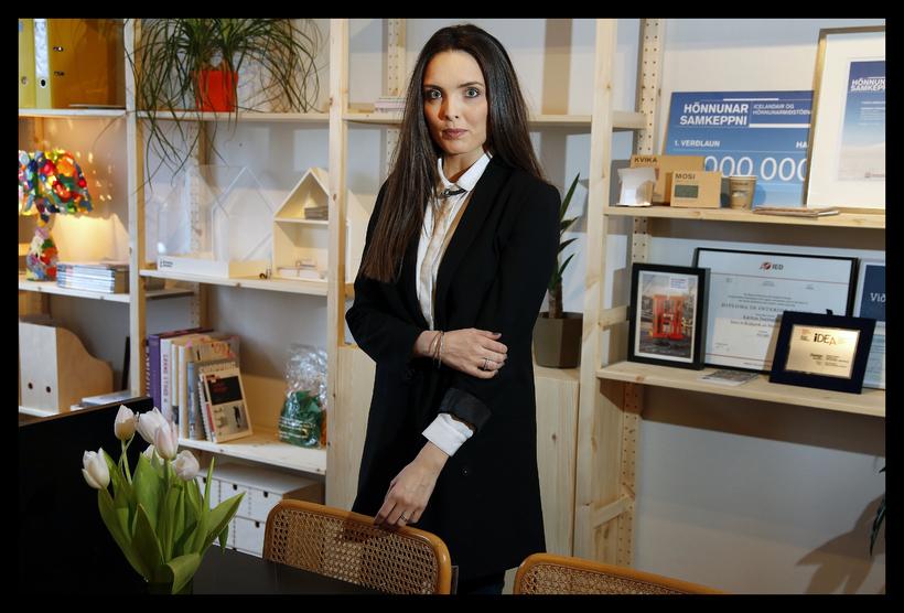 Karitas Sveinsdóttir hönnuður og eigandi HAF Studio.