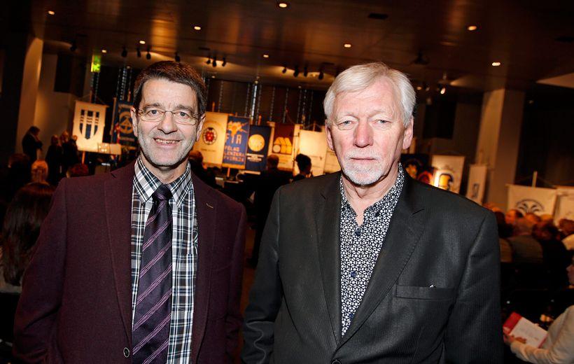 Jón B. Stefánsson og Baldur Gíslason.