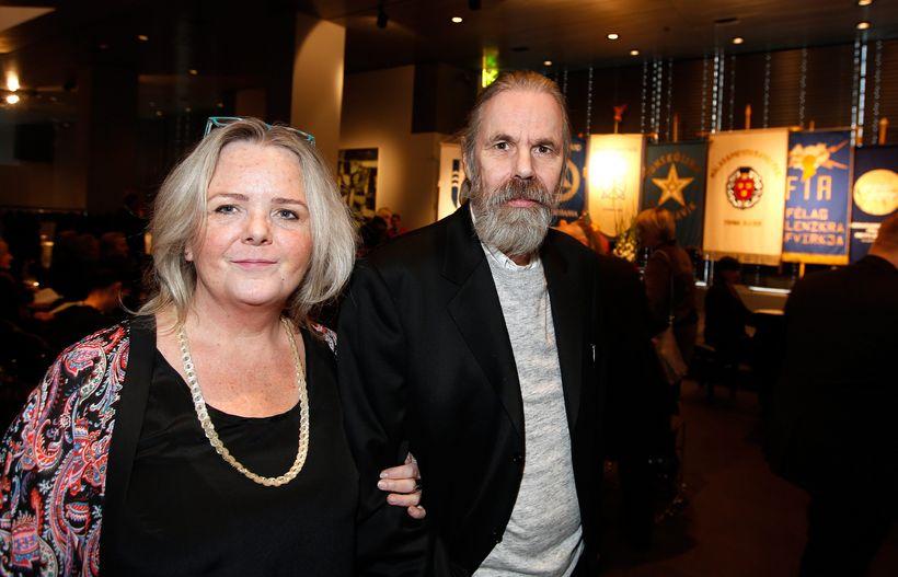 Anna Gunnlaugsdóttir og Rúnar Sveinbjörnsson.