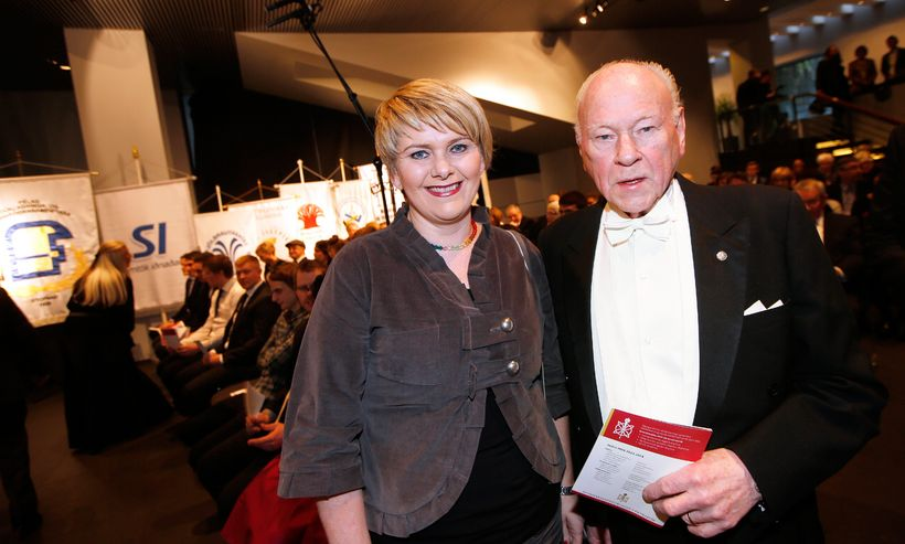 Ragnheiður Elín Árnadóttir og Guðmundur Ó. Eggertsson.