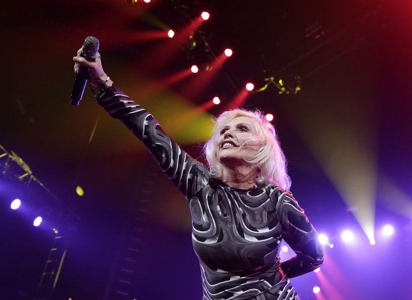 Blondie-söngkonan Debbie Harry.