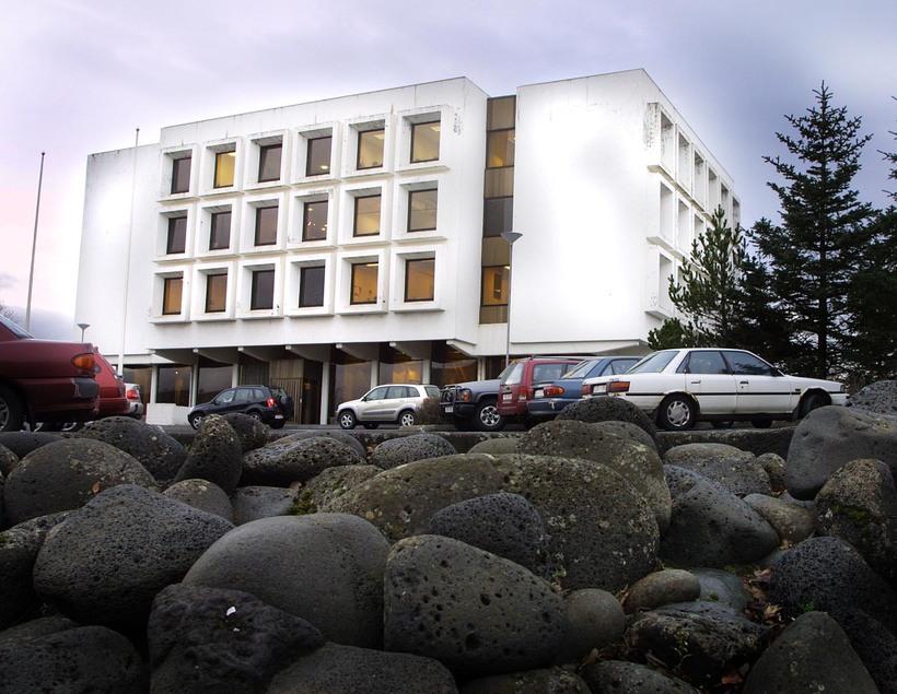Valhöll, höfuðstöðvar Sjálfstæðisflokksins.