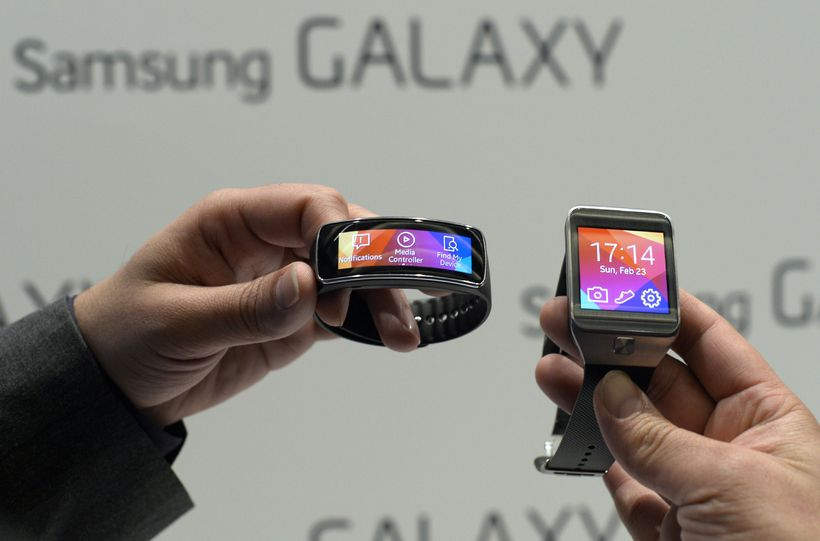 Samsung Galaxy Gear úrin.