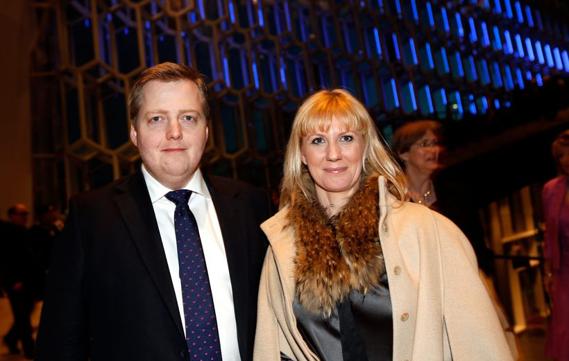 The financial affairs of the PM (left) and his wife …