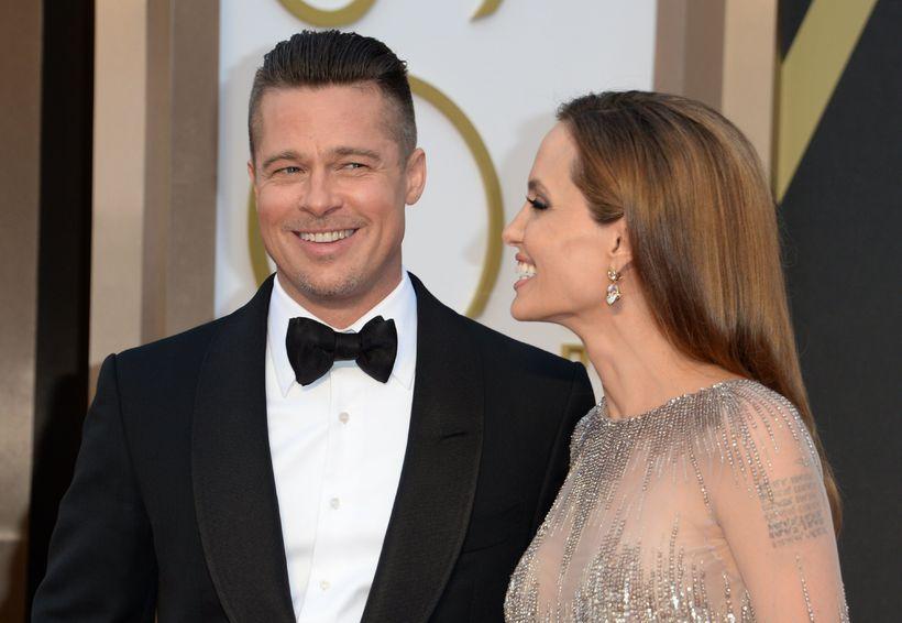 Pitt og Jolie árið 2014.