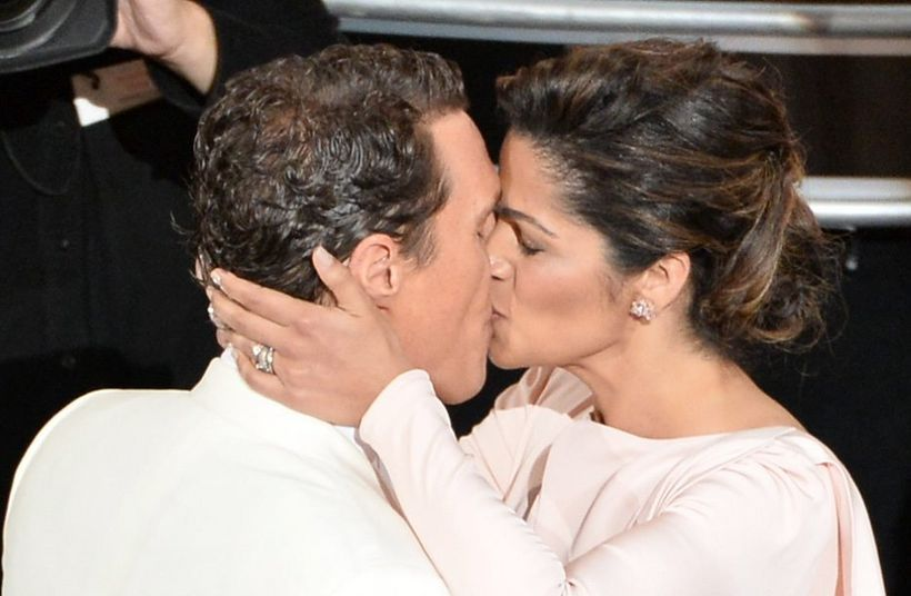 Matthew McConaughey og Camila Alves.