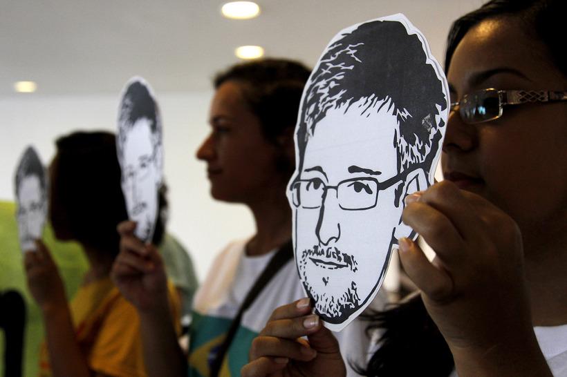 Edward Snowden á sér marga stuðningsmenn en einnig marga óvildarmenn.