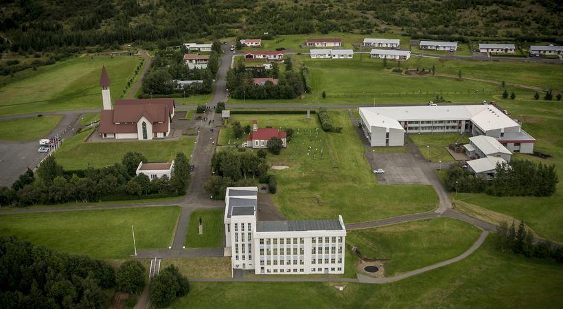 Reykholt í Borgarfirði.