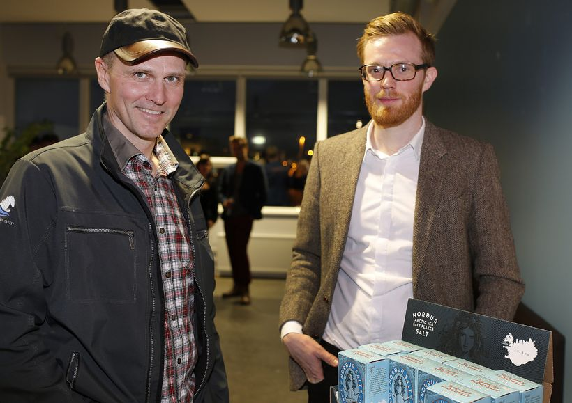 Bjarni Sigurðsson og Garðar Stefánsson.