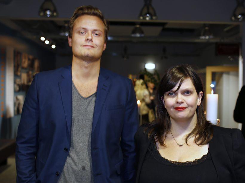Haukur Már Gestsson og Eva Rún.