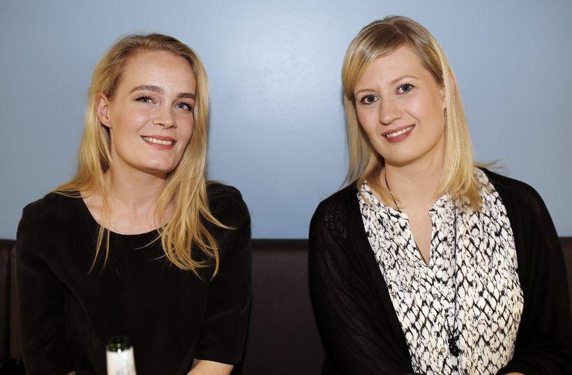 Magdalena Sigurðardóttir og Hulda Sigmarsdóttir.