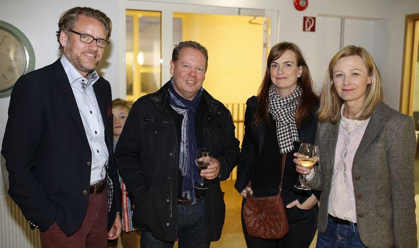 Ólafur Steppensen. Steingrímur Sigurgeirsson, María Guðmundsdóttir og Halldóra Traustadóttir.
