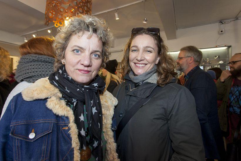 Ingibjörg Jóhannsdóttir og Hanna Styrmisdóttir.