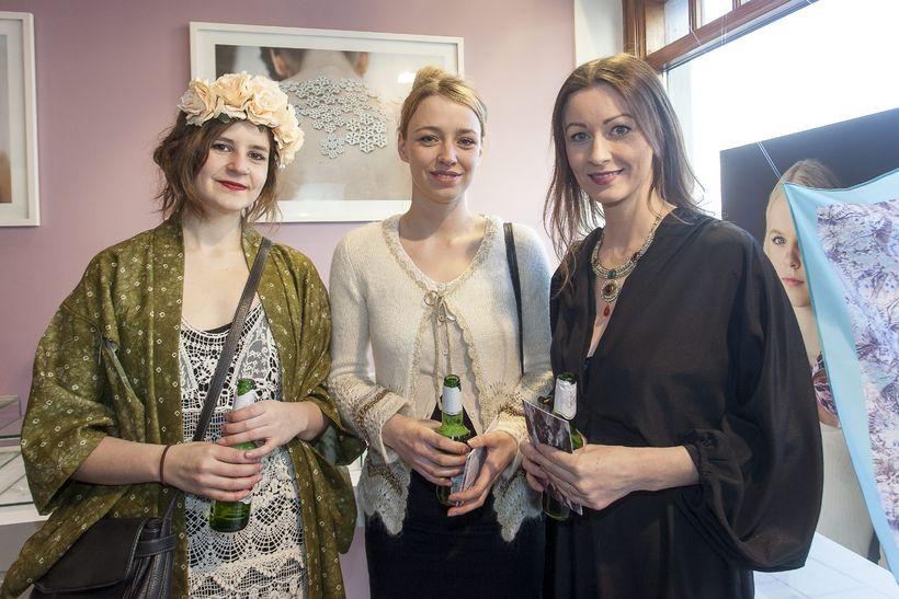 Tanja Huld Leví Guðmundsdóttir, Aðalheiður Erlendsdóttir og Elva Dögg Árnadóttir.