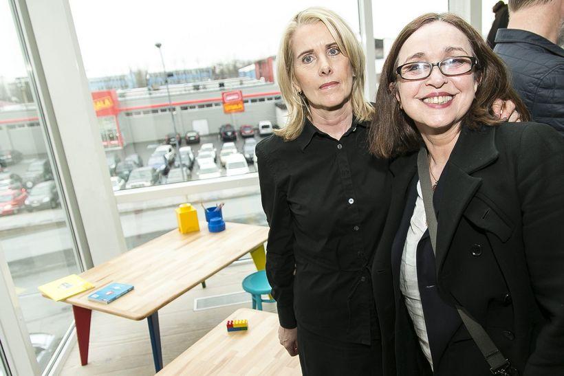 Guðrún Birgisdóttir og Helga Mogensen.