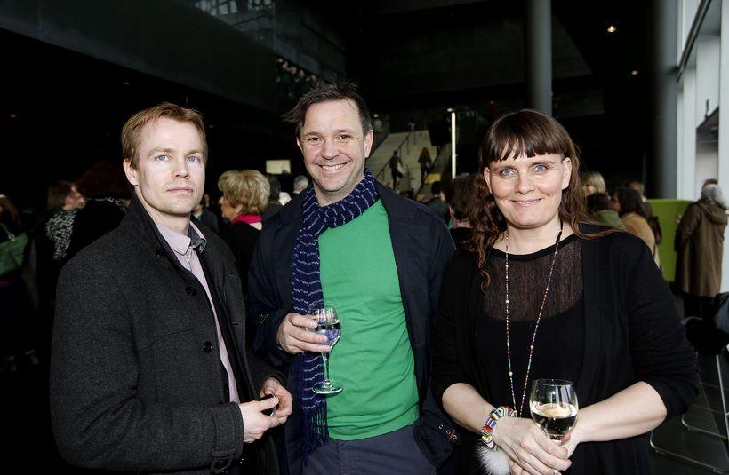 Jón Trausti Sæmundsson, Lúter Ólason og Heiða Jóhannsdóttir.