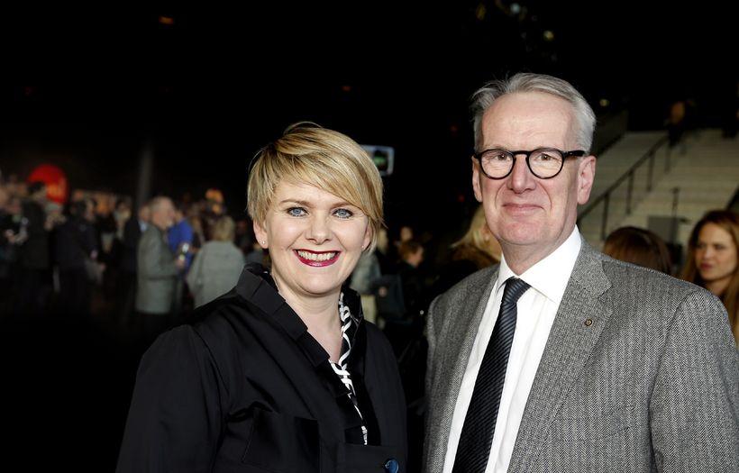 Ragnheiður Elín Árnadóttir og Jón Ásbergsson.