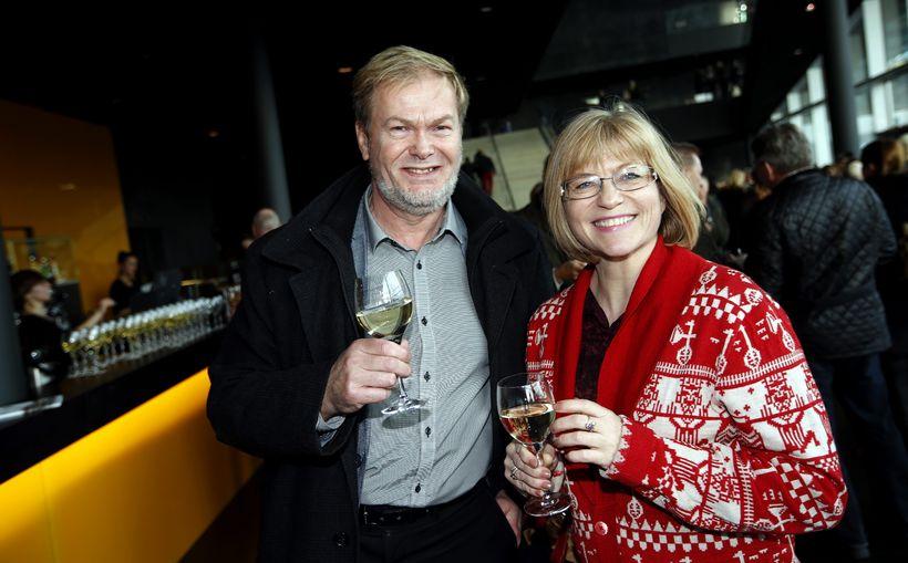 Ottó Ólafsson og Sigrún Einarsdóttir.
