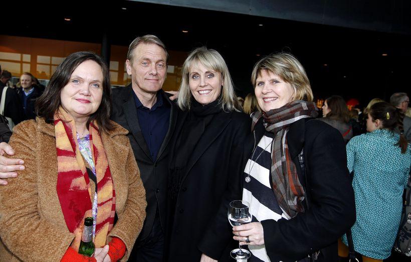 Sigrún Kristjánsdóttir, Björn Brynjúlfur Björnsson, Hrefna Haraldsdóttir og Helga Haraldsdóttir.