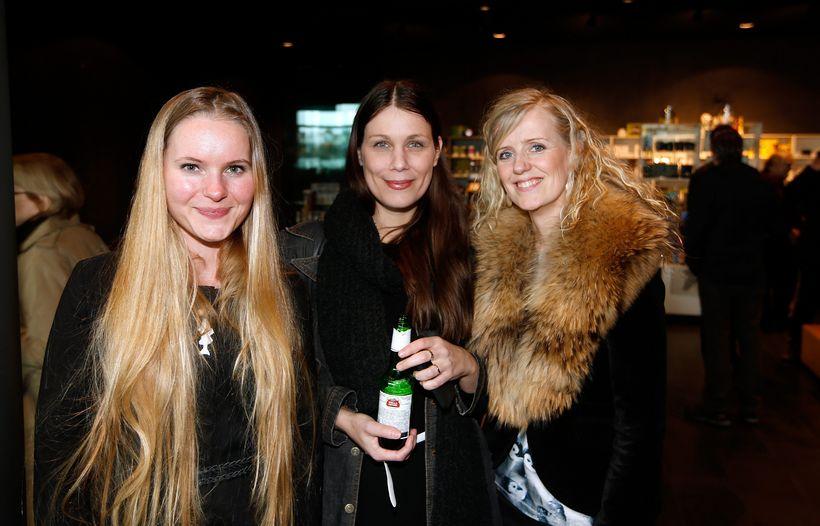 Guðrún Mist Sigfúsdóttir, Halla Björk Kristjánsdóttir og Íva Rut Viðarsdóttir.