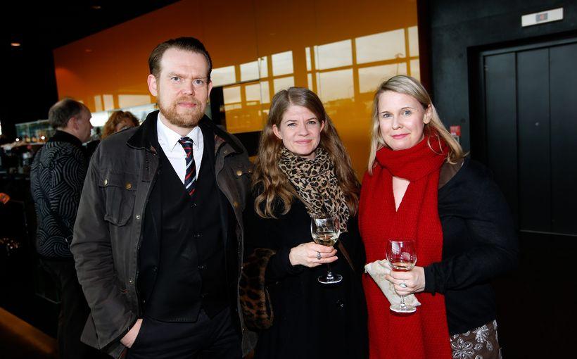Björn S. Blöndal, Sigurbjörg Gylfadóttir og Kaity Alfa.