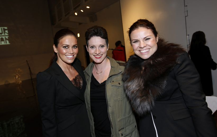 Kolbrún Pálína Helgadóttir, Bergþóra Laxdal og Marta María Jónasdóttir.