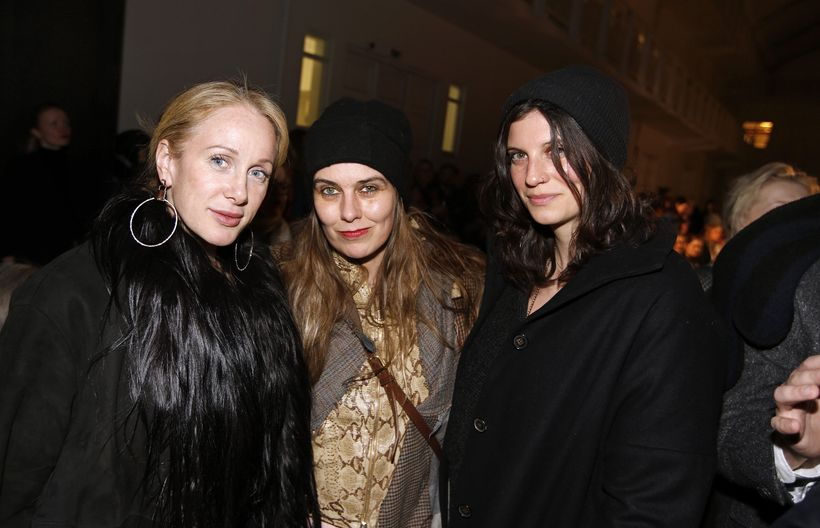 Pauline Brown, Áslaug Friðriksdóttir og Lara Absar.